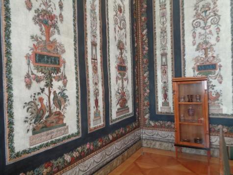 Inside Schwarzenberg palace